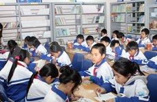 Singapore-supported mobile library visits HCM City