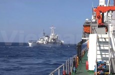 Chinese ships aggressively attack Vietnam's vessels