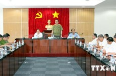 Security Minister holds phone talks with Chinese counterpart