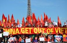 China stops violating Vietnam's sovereignty: protesters
