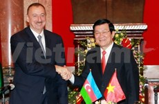 Azerbaijani President concludes Vietnam visit