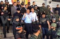 Thai protest leader indicted for murder charges