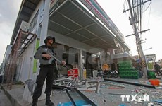 Bomb attack in Thai hospital injures at least 10