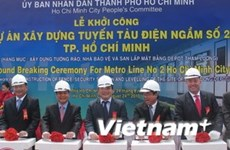 UK, RoK support Ho Chi Minh City urban railway projects