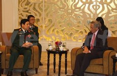 Vietnamese delegation busy on sidelines of Shangri-La Dialogue
