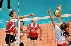 Vietnamese girls set for Asian volleyball event