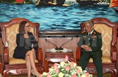 Defence Deputy Minister welcomes US guest