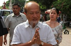 New Cambodian royalist party makes debut