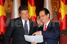 Vietnam, Italy aim for 5 billion USD in trade by 2016