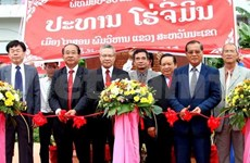 President Ho Chi Minh memorial site inaugurated in Laos