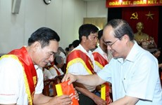 Meeting honours blood donors