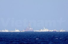 Vietnam persists with peaceful solution to East Sea tension