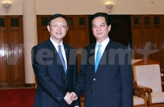 Prime Minister meets Chinese State Councillor in Hanoi