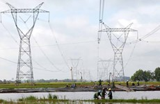 500kV transmission line to put into operation in south