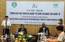 Vietnam joins international timber group