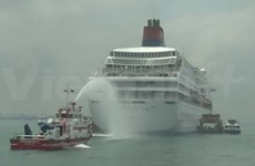 Singapore stages safety drill for ferry disasters