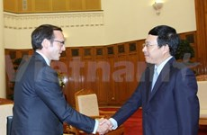 Deputy PM welcomes Obama assistant