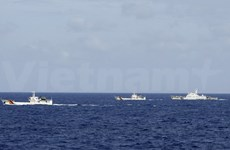Chinese ships keep obstructing Vietnamese boats at rig site