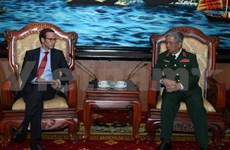 Deputy Defence Minister greets US President's emissary