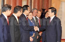 President: Diplomacy should lead national construction, defence