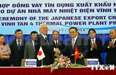 Vietnam gets Japanese loan for thermal power plant