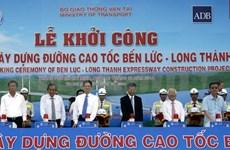 Work starts on Ben Luc – Long Thanh expressway