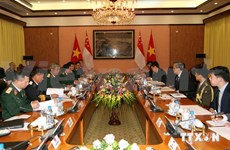 Vietnam-Singapore defence policy dialogue looks to stronger ties