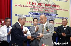 HCM City, Japanese firms make deal on metro line