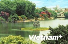 """City for peace"" title gives Hanoi new facelift"