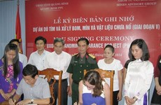 Nearly 4 million USD for mine clearance in Quang Binh