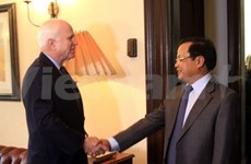 Politburo member Pham Quang Nghi concludes US visit