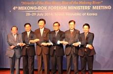 Vietnam attends fourth Mekong – RoK ministers' meeting