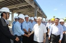 Party chief hails Thanh Hoa for socio-economic achievements