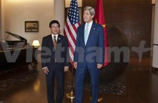 Deputy PM meets with foreign ministers of Myanmar, US, India