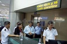 Noi Bai airport quarantine intensified amid growing Ebola virus concern