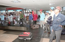 Over 600 guest workers in Libya return home safely