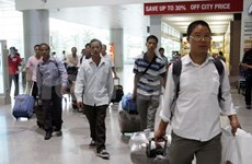 Vietnamese workers continue to evacuate from Libya