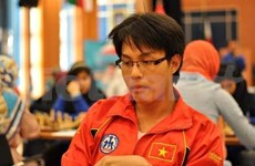 Vietnamese men draw with Armenia at Chess Olympiad