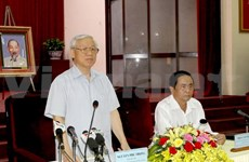 Party leader urges Can Tho to promote motivating role