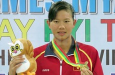 Vietnamese swimmer wins gold at Youth Olympics