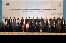 APEC senior officials meet in Beijing
