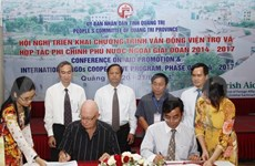 NGOs pledge over 6.1 million USD for Quang Tri