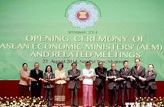 ASEAN economic ministers' meeting opens in Myanmar