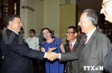 Ho Chi Minh City leader welcomes EC President