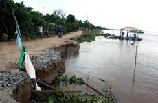 Rising sea levels pose serious threat to Quang Nam coast Quang Nam