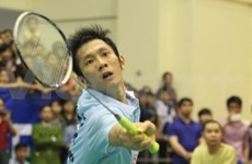 Minh passes first hurdle at Vietnam Open