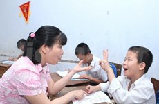 Quang Binh project to increase education for children with disabilities