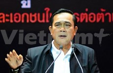 Thai PM delivers policy statement before legislative body
