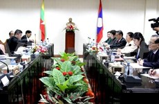 Lao, Myanmar legislative bodies increase ties