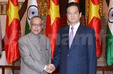 Prime Minister welcomes Indian President